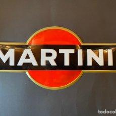Carteles: CARTEL METÁLICO DE MARTINI VINTAGE RETRO. Lote 263190365