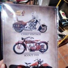 Carteles: CHAPA PLACA METAL MOTO INDIAN 20 X 30 DECORATIVA REPRO. Lote 275245728