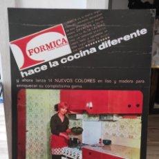 Carteles: ANTIGUO CARTEL PUBLICITARIO. FORMICA. MARCA REGISTRADA. COCINA. 69X50CM. Lote 264346884