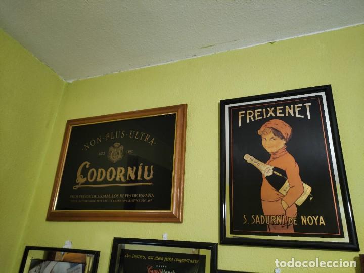 Carteles: Espejo cartel publicidad cava españoles 11 cuadros freixenet castellblanch codorniu etc - Foto 6 - 266344688