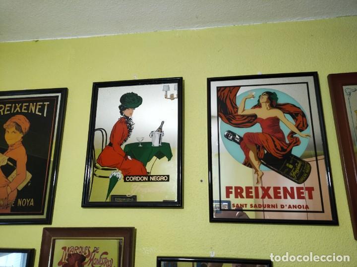 Carteles: Espejo cartel publicidad cava españoles 11 cuadros freixenet castellblanch codorniu etc - Foto 7 - 266344688