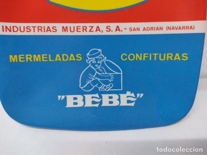 Carteles: PLATO DE PUBLICIADAD.CONSERVAS VEGETALES LA CARRETILLA.MERMELADAS BEBE.SAN ADRIAN NAVARRA. - Foto 2 - 266481518