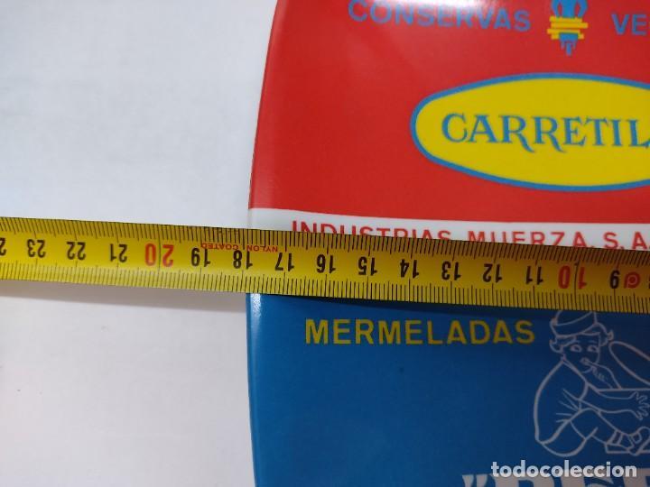 Carteles: PLATO DE PUBLICIADAD.CONSERVAS VEGETALES LA CARRETILLA.MERMELADAS BEBE.SAN ADRIAN NAVARRA. - Foto 6 - 266481518