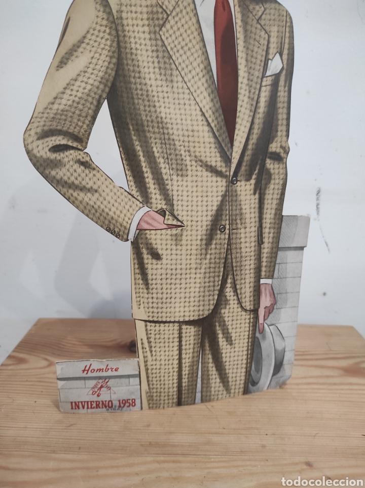 Carteles: Publicidad 32cm estudio rocosa moda hombre invierno 1958 - Foto 2 - 268727509