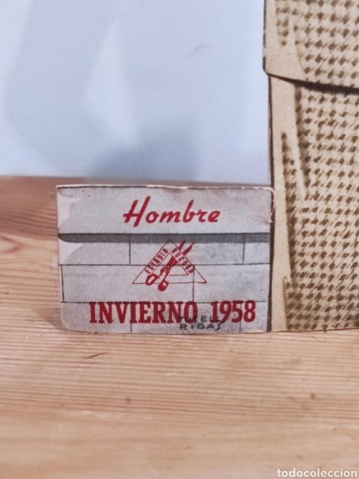 Carteles: Publicidad 32cm estudio rocosa moda hombre invierno 1958 - Foto 3 - 268727509