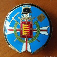Carteles: PLACA BOMBERO VALLADOLID, MUY RARA Y ORIGINAL, BUEN ESTADO, VED FOTOS. Lote 270914348