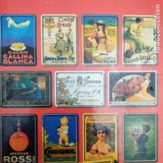 Carteles: COLECCION 25 CARTELES EN CHAPA 17,5X12,5 LOS ANUNCIOS DE TU VIDA LA OPINION DE MALAGA. Lote 279377408