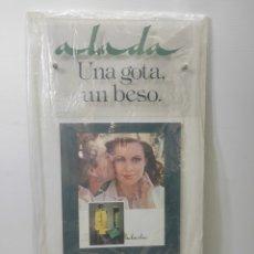 Carteles: CARTEL PUBLICITARIO MYRURGIA ALADA EAU DE TOILETTE. SIN USO. Lote 282480533