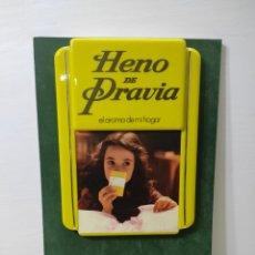 Carteles: CARTEL PUBLICITARIO HENO DE PRAVIA. MYRURGIA. SIN USO. Lote 282552923