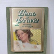 Carteles: CARTEL PUBLICITARIO HENO DE PRAVIA. MYRURGIA. SIN USO. Lote 282553228