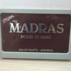 Carteles: CARTEL MADRAS POUR HOMME. EAU DE TOILETTE. MYRURGIA. Lote 282555233