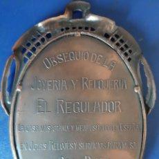Carteles: (PUB-210800)ESPEJO PUBLICITARIO OBSEQUIO JOYERIA Y RELOJERIA EL REGULADOR (BARCELONA). Lote 284495413