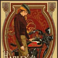"Carteles: PLACA CARTEL "" HARLEY-DAVIDSON "". Lote 294505933"