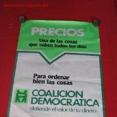 Carteles Políticos: CARTEL PROPAGANDA POLITICA. Lote 3561768