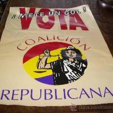 Carteles Políticos: CARTEL CAMPAÑA ELECTORAL AÑO 1996. Lote 26590922