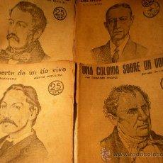 Carteles Políticos: 5 VARIOS - RECORTES DE LA VANGUARDIA AÑO 1940 + 4 REVISTAS NOVELAS Y CUENTOS AÑOS 1930 -31. Lote 21409575