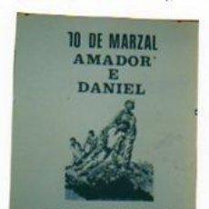 Carteles Políticos: SINDICATO OBREIRO GALEGO. SINDICATO OBRERO GALLEGO. AMADOR E DANIEL MORTEO PAR QUE GALICIA VIVA.. Lote 15195038