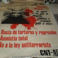 Carteles Políticos: CARTEL DE LA CNT. Lote 25672118