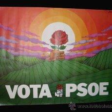 Carteles Políticos: CARTEL ELECTORAL VOTA PSOE - 95X68 CM - ELECCIONES 1979 - JOSE RAMON. Lote 25957684