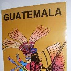 Carteles Políticos: CARTEL GUATEMALA - COMITE INTERNACIONAL DE SOLIDARIDAD CON GUATEMALA. Lote 25970035