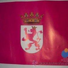 Carteles Políticos: CARTEL BANDERA DE LEON - CENTENARIO CORTES DE 1188. Lote 26043811