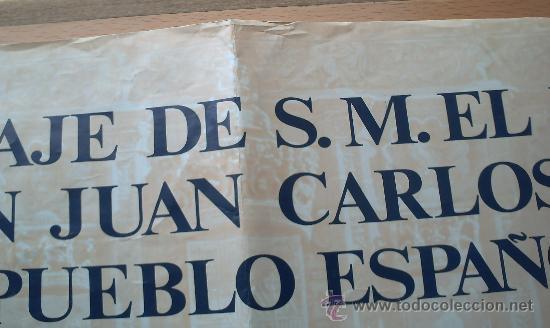 Carteles Políticos: PRIMER DISCURSO DEL REY JUAN CARLOS I 22 DE NOVIEMBRE 1975 - Foto 3 - 32515991