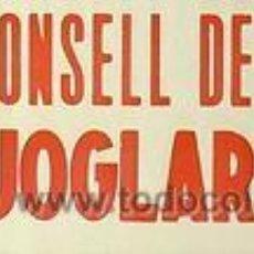 Carteles Políticos: CARTEL NO AL CONSELL DE GUERRA ALS JOGLARS.1978.BCN. Lote 75753197
