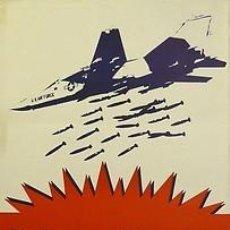 Carteles Políticos: CARTEL POR LA PAZ, FUERA ESPAÑA DE LA OTAN. PPC.1982. Lote 33983860