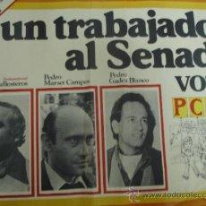 Carteles Políticos: VOTA PARTIDO COMUNISTA 0'50X0'65. Lote 34148921