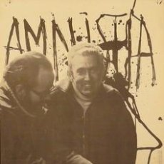 Carteles Políticos: CARTEL AMNISTIA.1976.MONTSERRAT.OLIVERES/MANENT.50X70. Lote 34156512