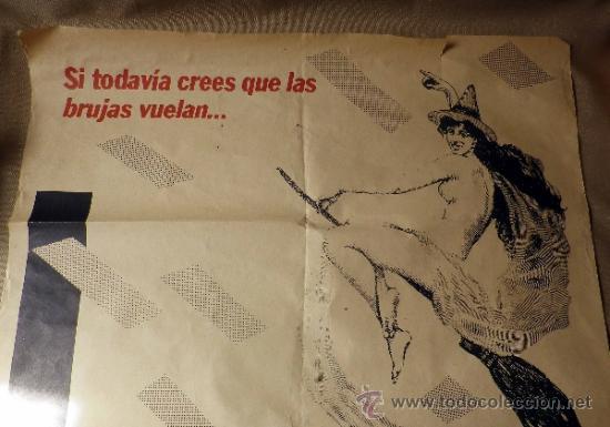 Carteles Políticos: CARTEL POLITICO. ELECCIONES. FALANGE ESPAÑOLA DE LAS JONS. VALENCIA. 80 X 56 CM - Foto 3 - 37247425