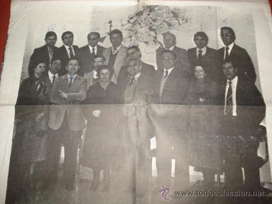 Carteles Políticos: Antiguo Cartel de Candidatos al Ayuntamiento de IBI por la UCD Unión de Centro Democratico de 1978 - Foto 2 - 38663863