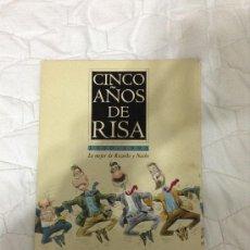 Carteles Políticos: CINCO AÑOS DE RISA - 1990 - 1995 - LO MEJOR DE RICARDO Y NACHO. Lote 39006330