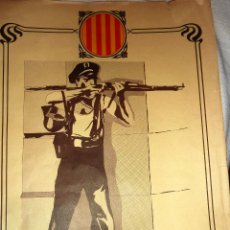 Carteles Políticos: CARTEL POSTER PARTIDO SOCIALISTA DE CATALUÑA CATALUNYA . PSC 45 / 33 CM 1977 ORIGINAL. Lote 47397791