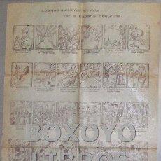 Carteles Políticos: 'LOS QUE QUISIERON EN VIDA VER A ESPAÑA DESUNIDA'. CA. 1935. Lote 49789427