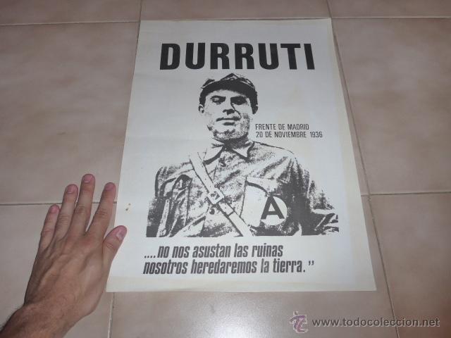 Carteles Políticos: Lote 9 cartel politico transicion de la CNT anarquista, originales. - Foto 5 - 49793031