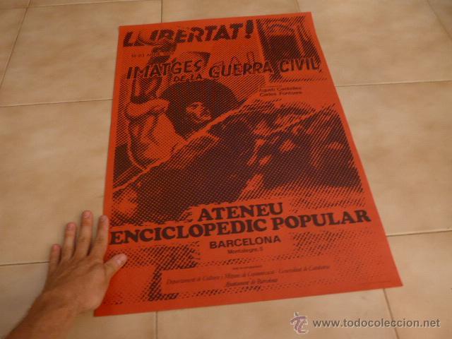 Carteles Políticos: Lote 9 cartel politico transicion de la CNT anarquista, originales. - Foto 6 - 49793031