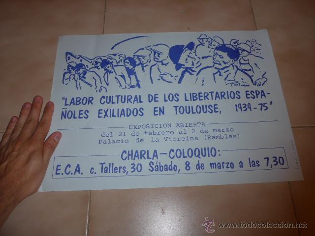 Carteles Políticos: Lote 9 cartel politico transicion de la CNT anarquista, originales. - Foto 12 - 49793031