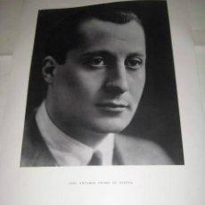 Carteles Políticos: JOSÉ ANTONIO PRIMO DE RIVERA. CARTEL 1963.. ENVIO INCLUIDO.. Lote 60527615