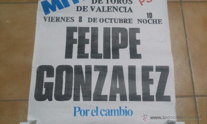 Carteles Políticos: CARTEL HISTÓRICO PSOE 1982 - Foto 2 - 50943212