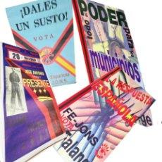 Carteles Políticos: VARIOS CARTELES, FALANGISTAS A ALICANTE ·· FALANGE ESPAÑOLA ·· J.O.N.S ··. Lote 51074387