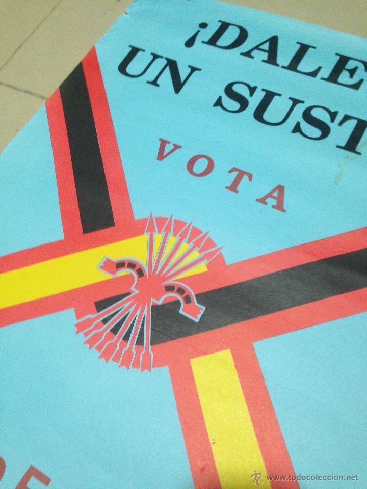 Carteles Políticos: VARIOS CARTELES, FALANGISTAS A ALICANTE ·· FALANGE ESPAÑOLA ·· J.O.N.S ·· - Foto 3 - 51074387
