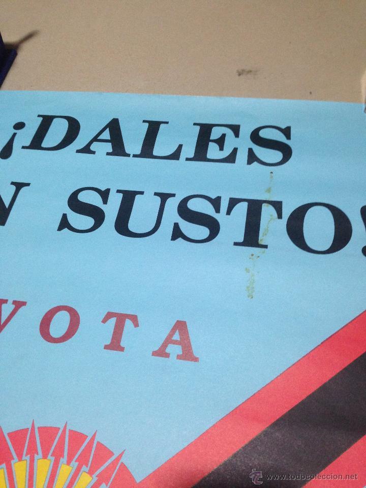 Carteles Políticos: VARIOS CARTELES, FALANGISTAS A ALICANTE ·· FALANGE ESPAÑOLA ·· J.O.N.S ·· - Foto 4 - 51074387