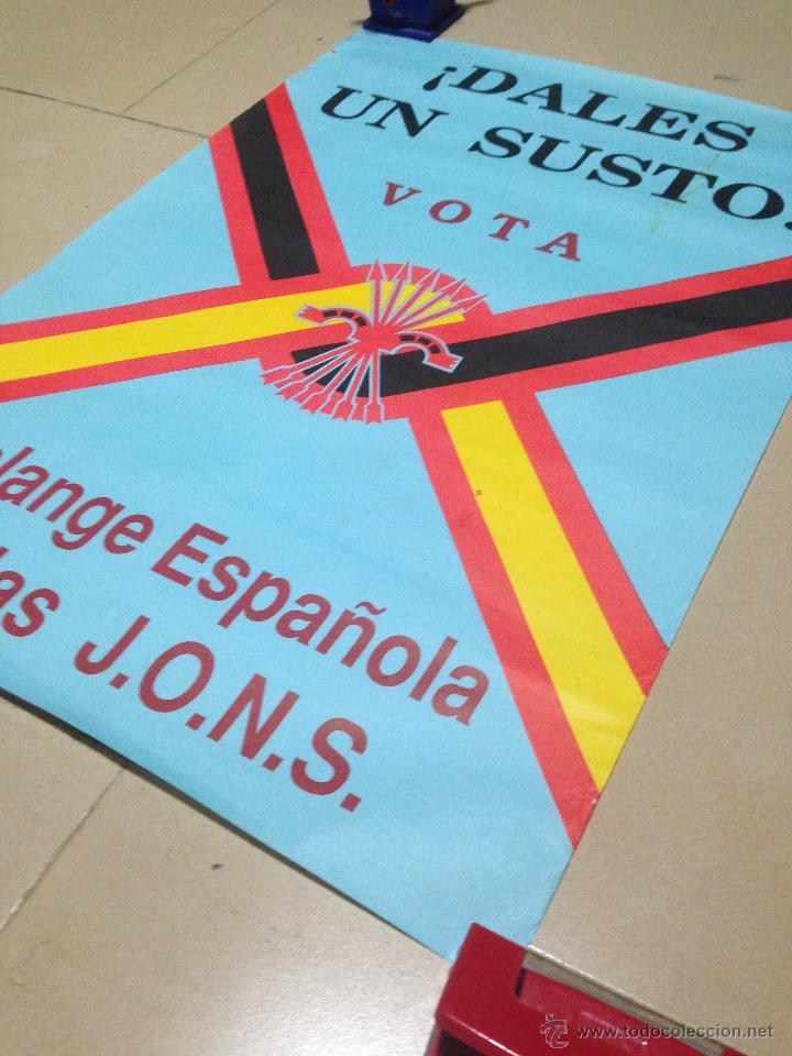 Carteles Políticos: VARIOS CARTELES, FALANGISTAS A ALICANTE ·· FALANGE ESPAÑOLA ·· J.O.N.S ·· - Foto 5 - 51074387