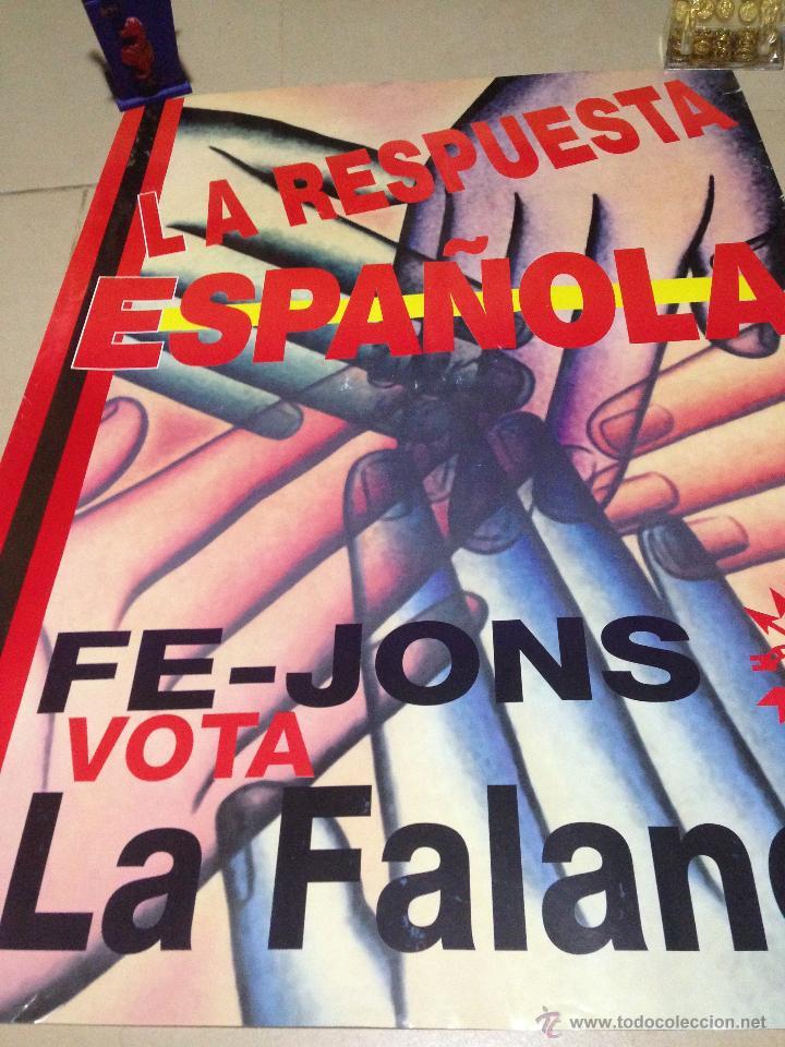 Carteles Políticos: VARIOS CARTELES, FALANGISTAS A ALICANTE ·· FALANGE ESPAÑOLA ·· J.O.N.S ·· - Foto 7 - 51074387