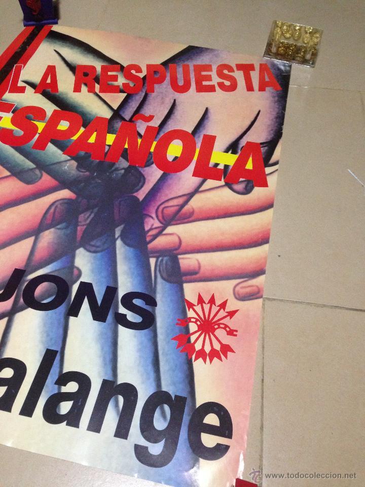 Carteles Políticos: VARIOS CARTELES, FALANGISTAS A ALICANTE ·· FALANGE ESPAÑOLA ·· J.O.N.S ·· - Foto 8 - 51074387