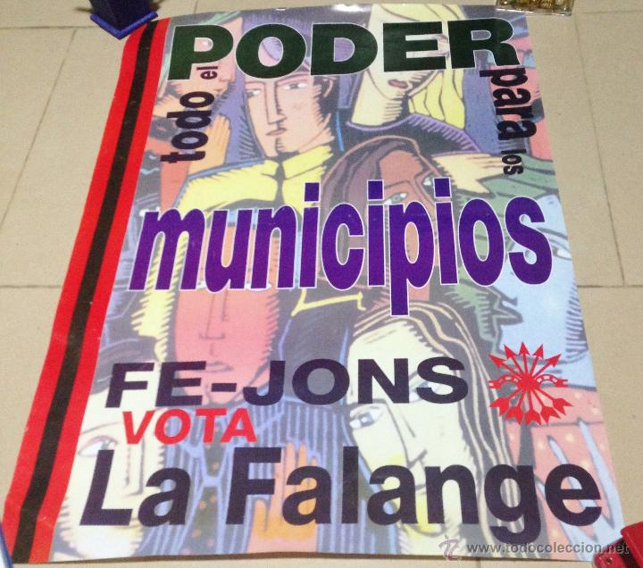 Carteles Políticos: VARIOS CARTELES, FALANGISTAS A ALICANTE ·· FALANGE ESPAÑOLA ·· J.O.N.S ·· - Foto 20 - 51074387