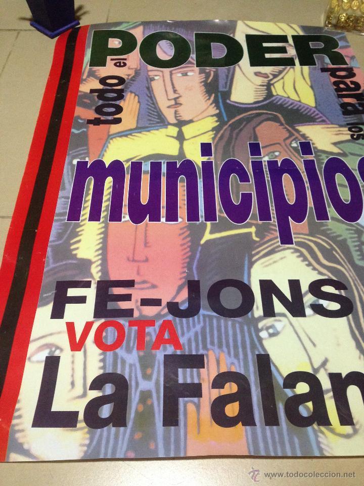 Carteles Políticos: VARIOS CARTELES, FALANGISTAS A ALICANTE ·· FALANGE ESPAÑOLA ·· J.O.N.S ·· - Foto 21 - 51074387