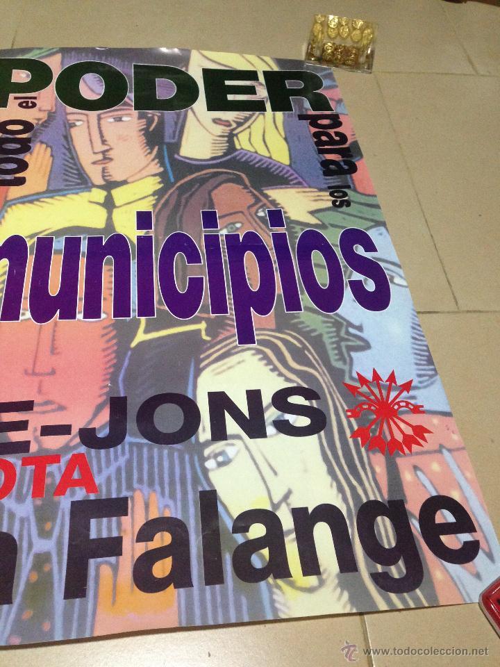 Carteles Políticos: VARIOS CARTELES, FALANGISTAS A ALICANTE ·· FALANGE ESPAÑOLA ·· J.O.N.S ·· - Foto 22 - 51074387