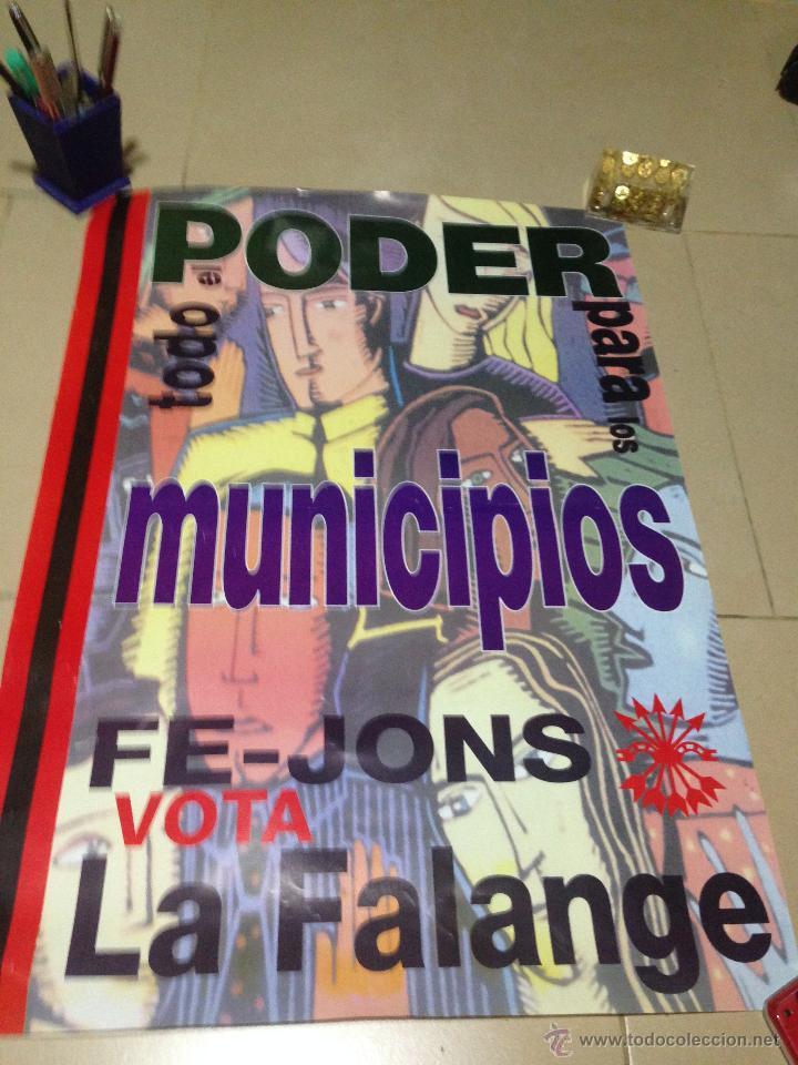 Carteles Políticos: VARIOS CARTELES, FALANGISTAS A ALICANTE ·· FALANGE ESPAÑOLA ·· J.O.N.S ·· - Foto 23 - 51074387
